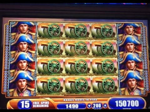 **MASSIVE JACKPOT ** NAPOLEON & JOSEPHINE slot machine AMAZING FULL SCREEN JACKPOT HANDPAY WIN! from YouTube · Duration:  4 minutes 2 seconds  · 168 000+ views · uploaded on 09/11/2015 · uploaded by CASINO WINS by Blueheart