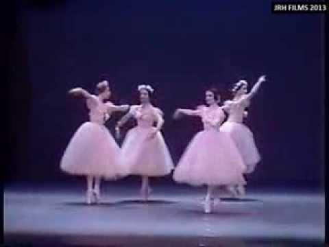'Pas de Quatre' - Alicia Alonso, Carla Fracci, Ghislaine Thesmar and Eva Evdokimova