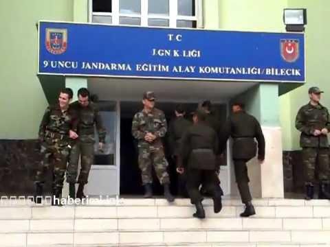 bilecik 9uncu jandarma eğitim alay komutanlığında acemi eğitimi sonu