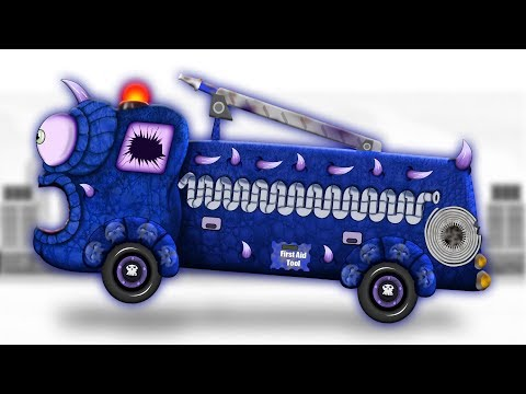 Scary Fire Truck | Formation & Uses | Scary Video for Children & Babies