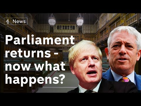 Parliament returns – what next for Brexit? | Channel 4 News special broadcast