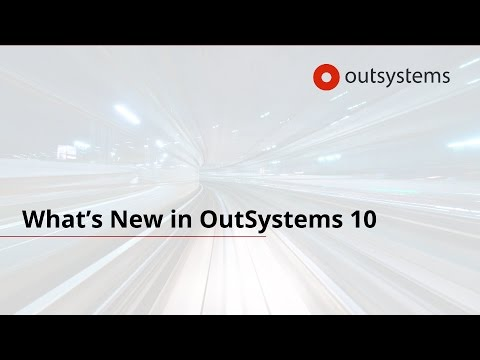 Whats New in OutSystems 10