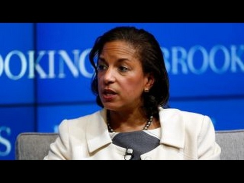 Susan Rice mocks Trump's stance on foreign policy