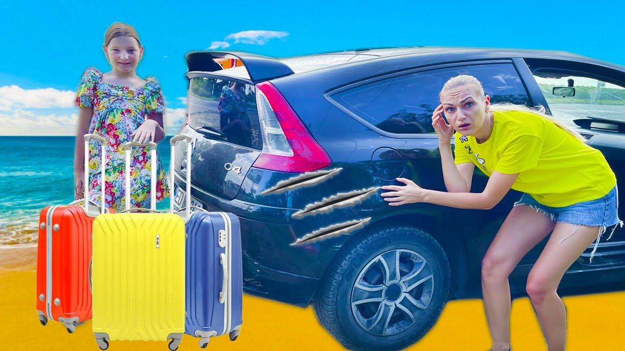 ȚARĂ nouă și Mașină LOVITĂ în parcare și peripeții la VAMĂ