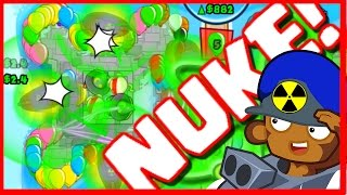 BTD Battles - FINALLY QUAD NUKE! - Bloons TD Battles Epic Gameplay