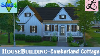 The Sims 4: House Building - Cumberland Cottage