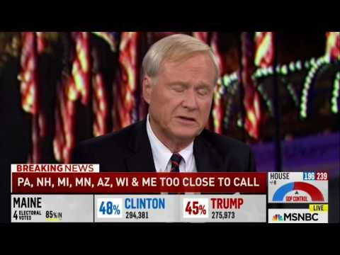 Chris Matthews Elect Night  Hillary Didnt stand for issues just pandered