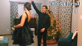 junior year winter formal grwm & vlog
