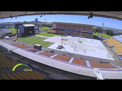 Mt Smart Stadium Venue Timelapse