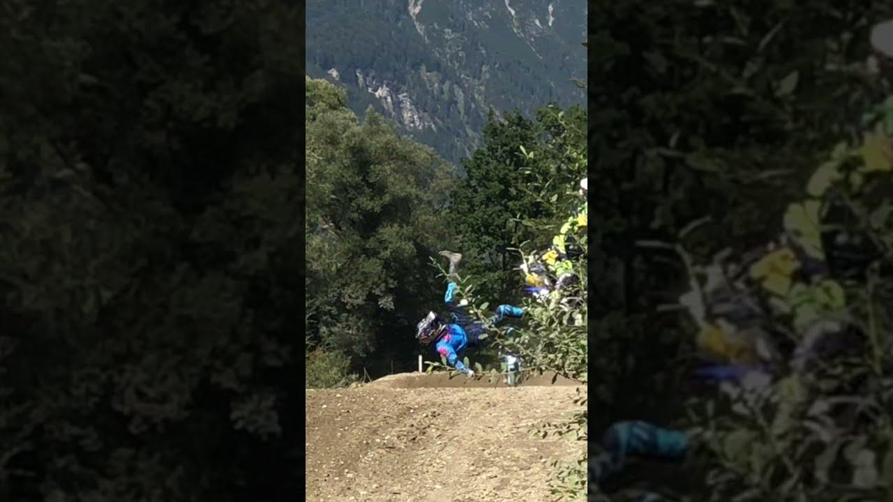 MOTOR TV22: Spektakulärer Motocross Crash #shorts