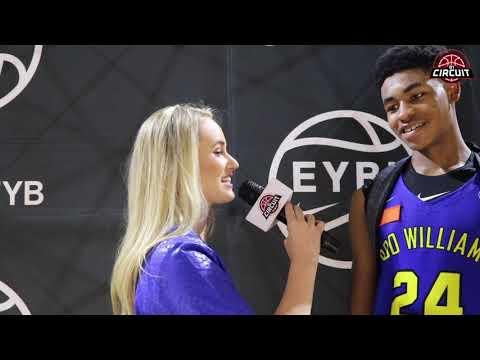 Nike EYBL Atlanta Interview with Cameron Thomas of Boo Williams VA