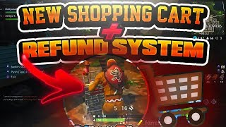 "🛒🔴 NEW ""SHOPPING CART"" + REFUND SKIN In FORTNITE 🏆 + Giveaway🎁"