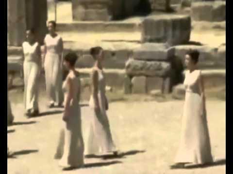 Сегодня в Древней Олимпии зажгли  огонь 30 х летних Олимпийских игр