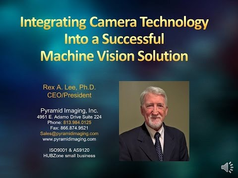 Integrating Camera Technology Into a Successful Machine Vision Solution