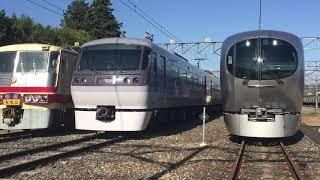 西武秩父線開通50周年記念 車両基地まつりin横瀬 歴代特急車両展示 ⑵