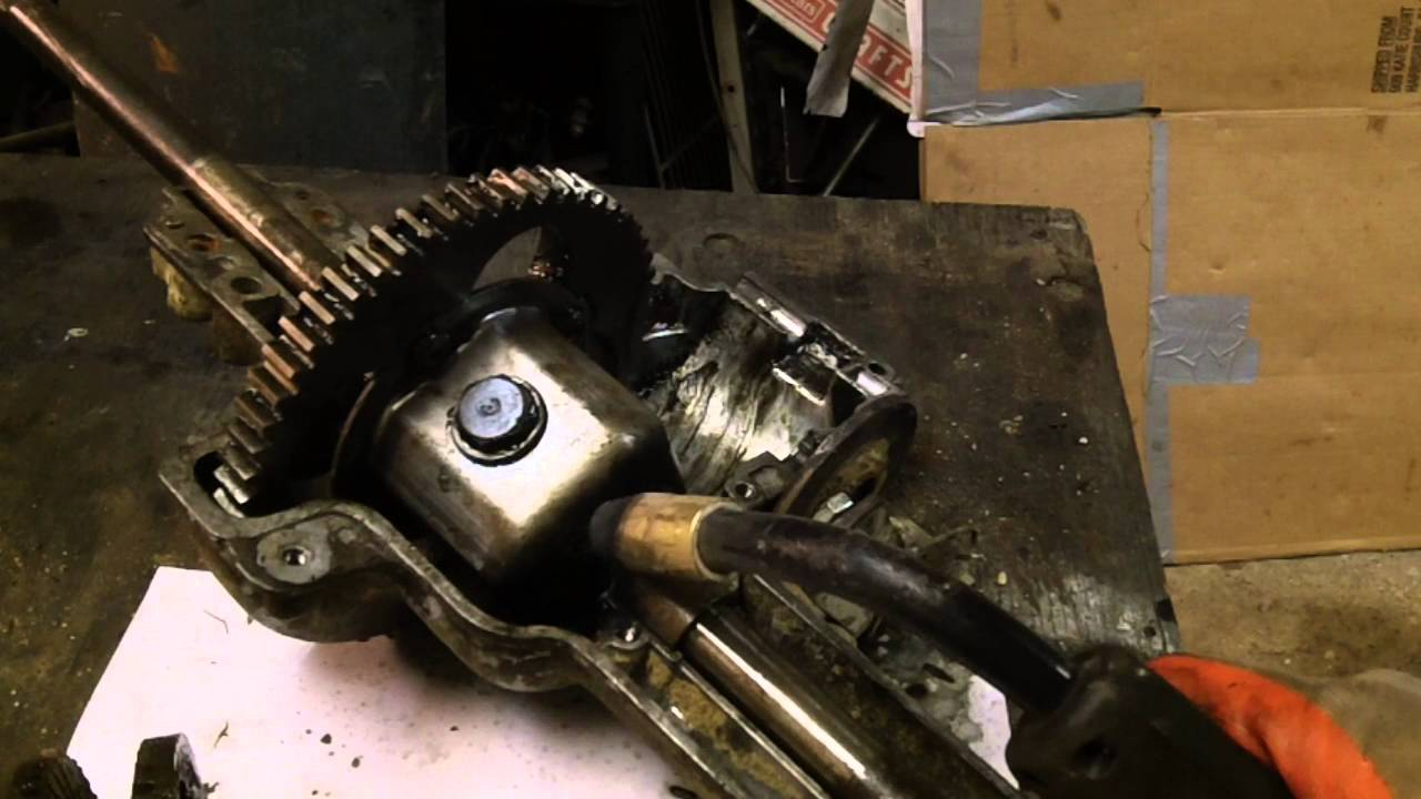 HOW TO LOCK MTD 1spd TRANSAXLES - FnR Trans 618-0073 and others