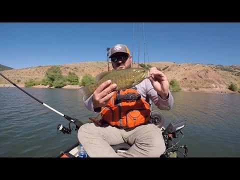 Kayak Fishing Utah Bass Stop #5 | East Canyon Reservoir