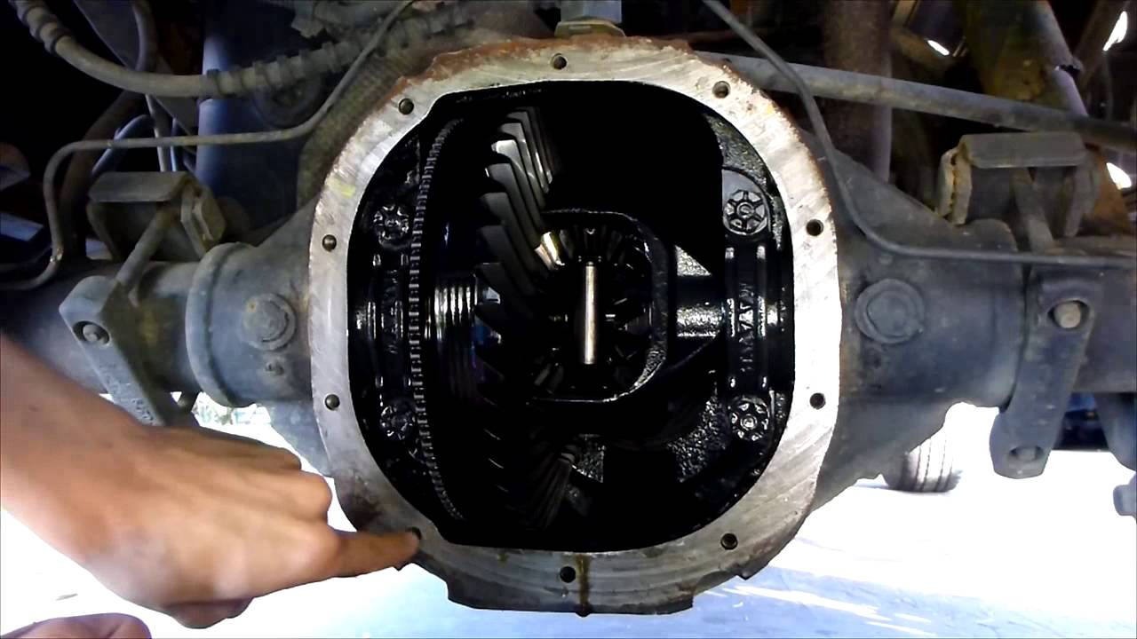 How To Change Rear Differential Fluid Summary Quick Version Youtube 1995 Chevy Exploded View