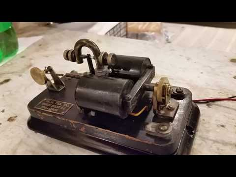 Western Union 4-C Telegraph line relay