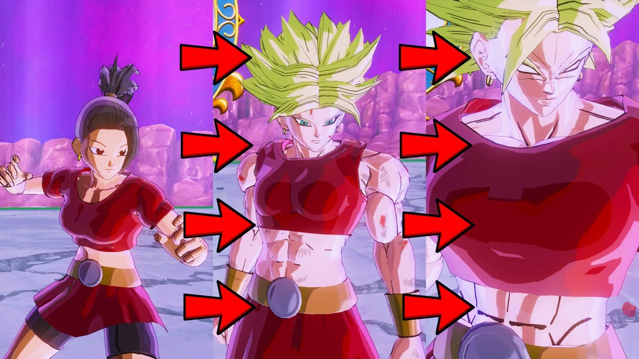 Dragon Ball Xenoverse 2 Pc Kale Female Broly Legendary Super Saiyan Mod 60fps 1080p