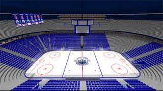 Roblox #5 NHL at Rexall Place oilers cant score and that's me !!