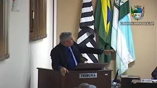 26ª Sessão Ordinária - Presidente Marcão Alves