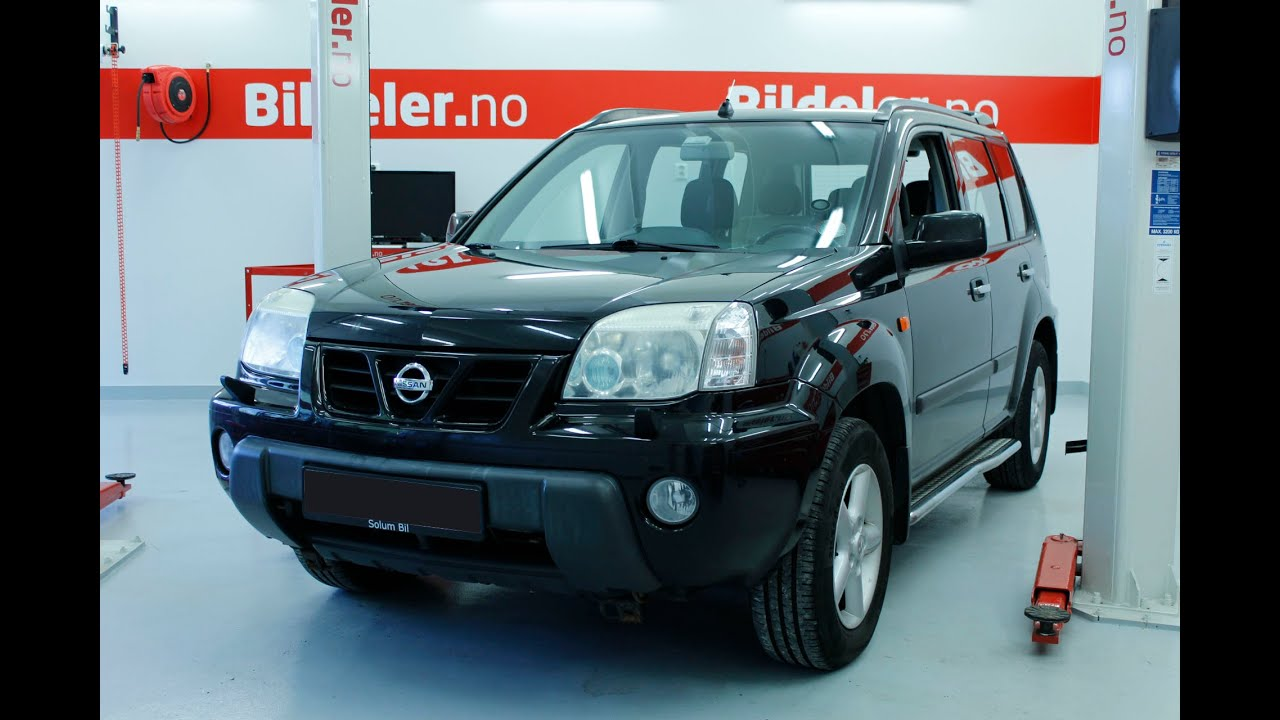 Nissan X Trail 2007 >> Nissan X-Trail: Hvordan bytte aircondition reim - 2001 til 2007 mod. (T30) - YouTube