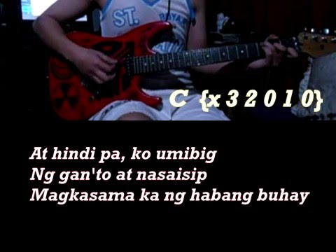 Ikaw by Yeng Constantino Guitar Chords