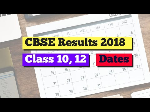 CBSE Result 2018: Class 10 and 12 Results Dates