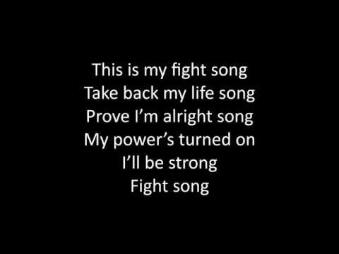 Timeflies - Fight Song Lyrics