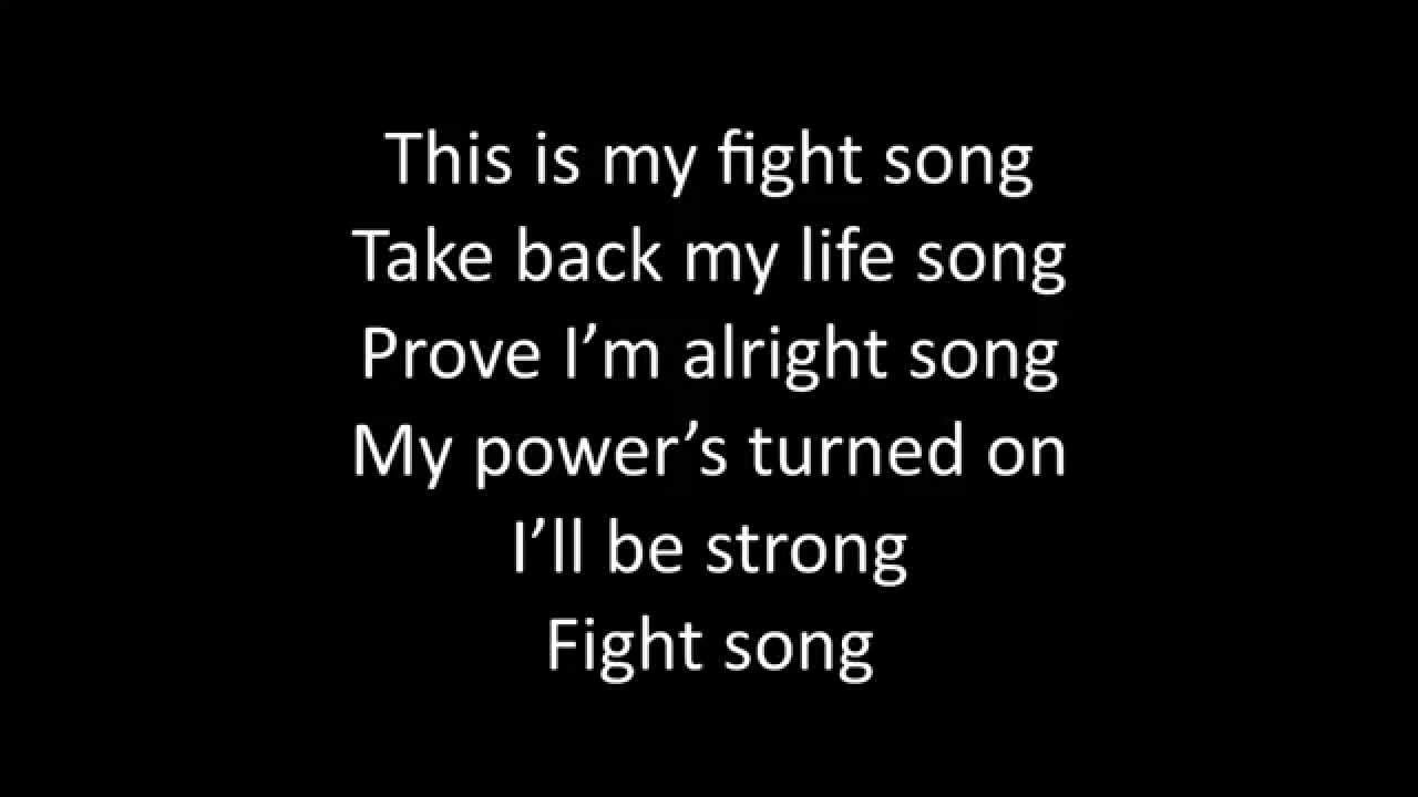 song lyrics fight tomorrow surgery having friend much prayers appreciated talked thoughts would last kathy thanks said she