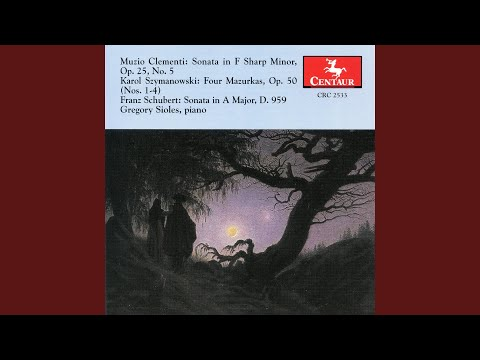 Piano Sonata No. 20 In A Major, D. 959: III. Scherzo: Allegro Vivace