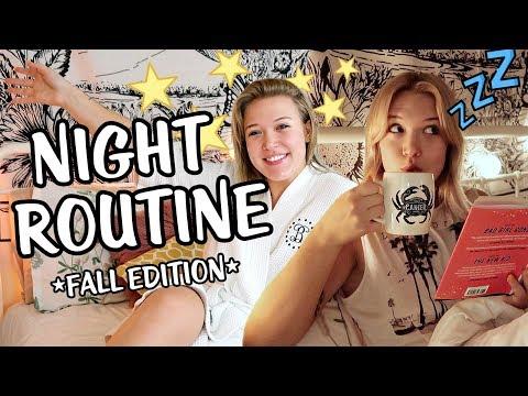 College Night Routine   Fall 2018