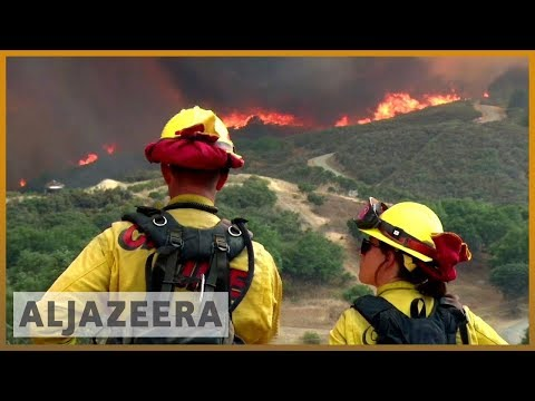 🇺🇸 🔥 California: Mendocino Complex biggest wildfire in state history | Al Jazeera English