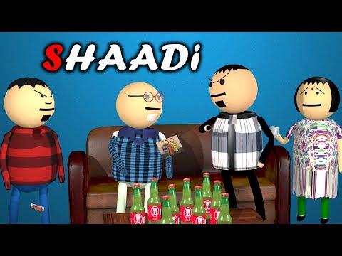 MAKE JOKE OF - SHAADI || LOVE MARRIAGE VS ARRANGE MARRIAGE