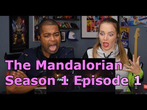 "the-mandalorian-season-1-episode-1-""chapter-1""(jane-and-jv-reaction-🔥)"