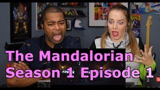 "The Mandalorian Season 1 Episode 1 ""Chapter 1""(Jane and JV REACTION 🔥)"