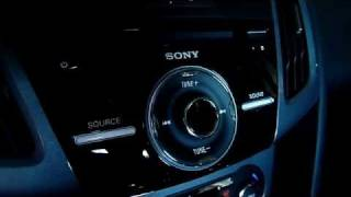 2012 Ford Focus: 10-speaker Sony Premium Audio System