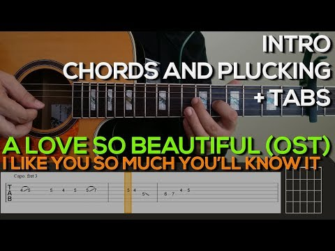 Guitar Chords with Strumming Patterns - I Like You So Much, You\'ll ...