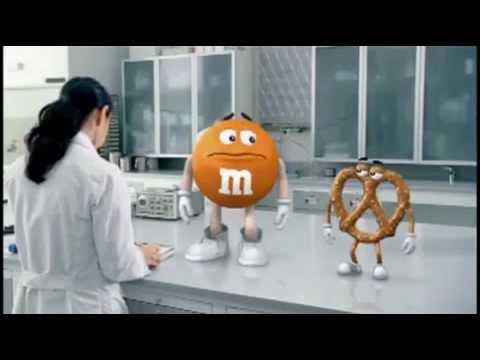 Brezel M&M's Werbung - German (Fan-)Dub