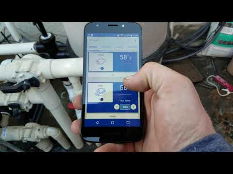 Pentair Intellicenter, Phone Controls For Your Swimming Pool / Spa