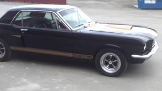 My 1965 Mustang GT 350 coupe Hertz tribute.