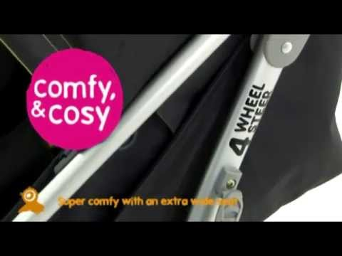 Cosatto I-Spin Stroller 24/7 - Demonstration | BabySecurity