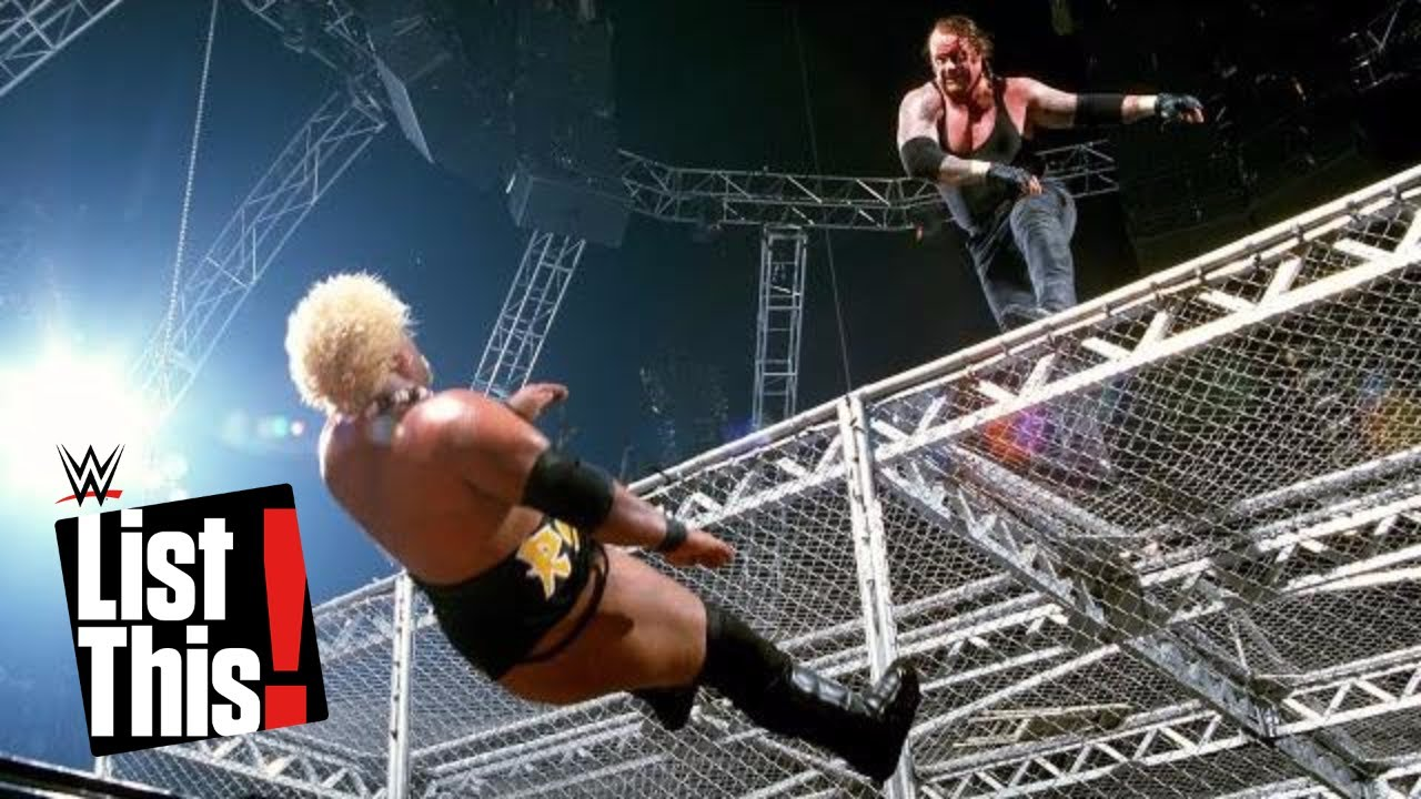 Download 7 Superstars who fell off Hell in a Cell: WWE List This!