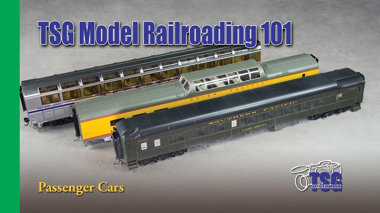 Model Railroading 101 Passenger Cars For Beginners Youtube