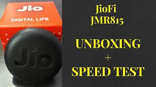JIOFI JMR 815 - Personal Hotspot WIFI Router Unboxing and Speed Test