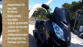 Peugeot Satelis 125cc review in France, Bule Doyan Motor Pulang Kampung