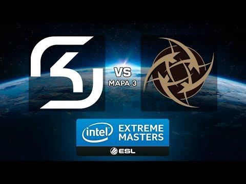 IEM Oakland 2017 - SK Gaming vs. Ninjas in Pyjamas (Mapa 3 - Inferno) - Narração PT-BR