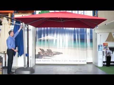 The Savannah Cantilever Patio Umbrella YouTube