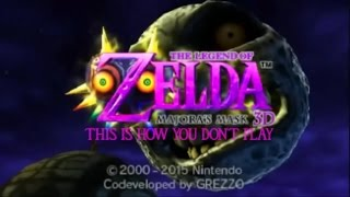 Let's Endure: This Is How You DON'T Play Majora's Mask 3D (Part 1)